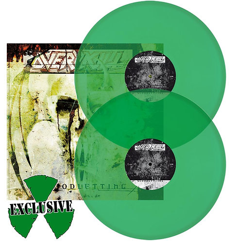 Overkill - Bloodletting Green Vinyl 2LP