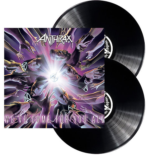 Anthrax - We'Ve Come For You All Black Vinyl 2LP