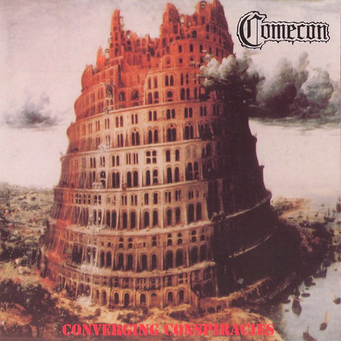 Comecon  - Converging Conspiracies Black Vinyl LP