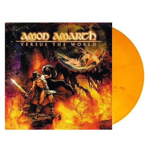 Amon Amarth - Versus The World Orange/Red Marble Vinyl LP