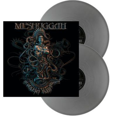 Meshuggah - The Violent Sleep Of Reason Silver Vinyl 2LP