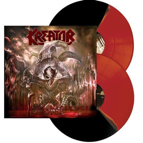 Kreator - Gods Of Violence Bi-Coloured Vinyl 2LP