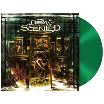 Dew-Scented - Intermination Green Vinyl LP