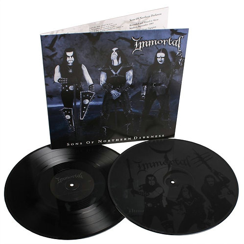 Immortal - Sons Of Northern Darkness Black Vinyl 2LP
