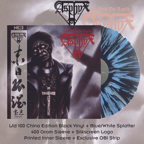 Asphyx - Last One On Earth Ltd 100 China Version Black Vinyl + Blue/White Splatt
