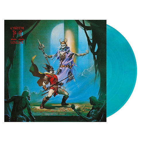 Cirith Ungol - King Of The Dead Clear Ice Blue Vinyl LP