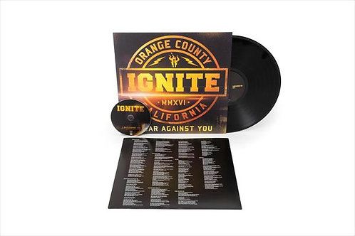 Ignite - A War Against You Black Vinyl LP
