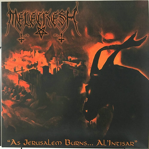 Melechesh - As Jerusalem Burns...Alintisar Black Vinyl LP