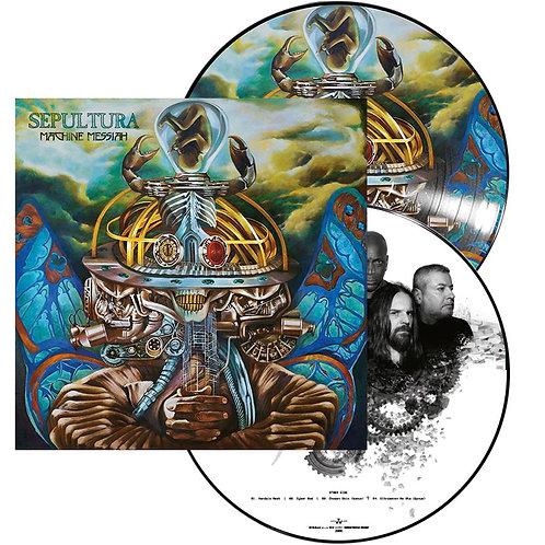Sepultura - Machine Messiah Picture Vinyl 2LP