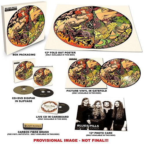 Blues Pills - Lady In Gold Picture Vinyl Box Set LP