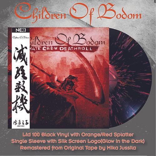 Children Of Bodom - Hate Crew Deathroll Ltd 100 Splatter Vinyl
