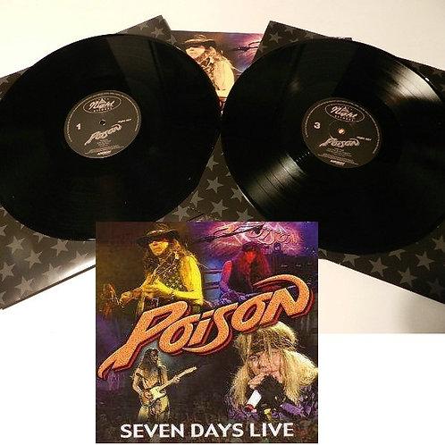 Poison - Seven Days Live Black Vinyl 2LP