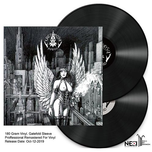 Lacrimosa - Inferno Black Gatefold Vinyl 2LP Ltd 1000