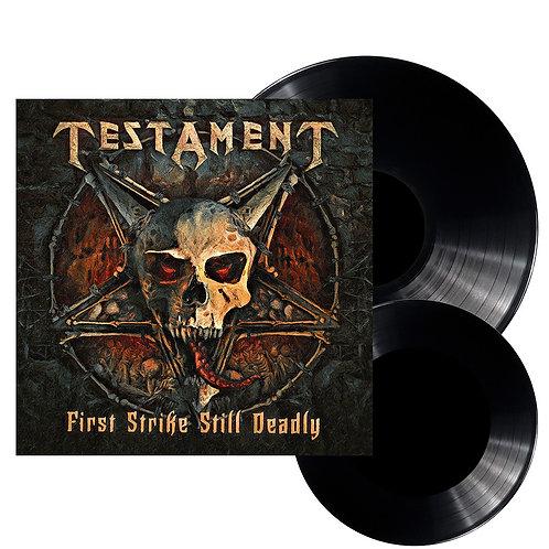 Testament - First Strike Still Deadly Black Vinyl 2LP