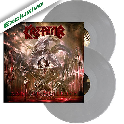 Kreator - Gods Of Violence Grey Vinyl 2LP
