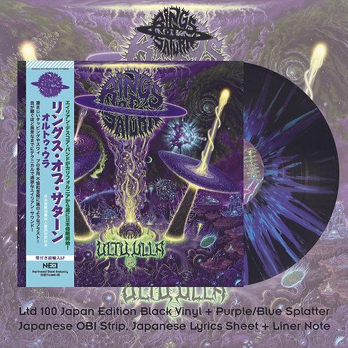 Rings Of Saturn - Ultu Ulla Black Vinyl with Purple+Blue Splatter