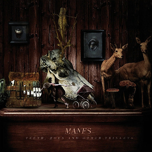 Manes - Teeth, Toes And Other Trinkets CD Digipak