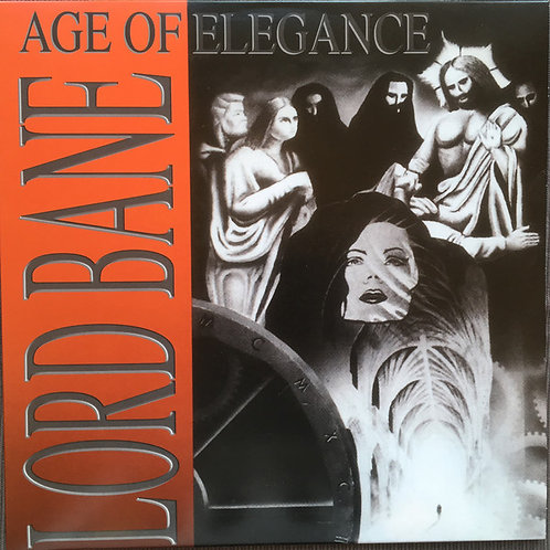 Lord Bane - Age Of Elegance Red/Silver Swril Vinyl LP
