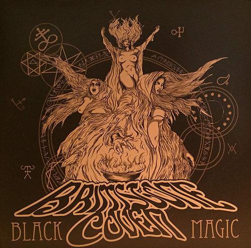 Brimstone Coven - Black Magic Clear Biege Vinyl 2LP
