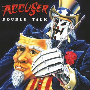 Accuser - Double Talk Black Vinyl LP