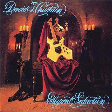 David T. Chastain - Elegant Seduction Orange Splatter Vinyl LP