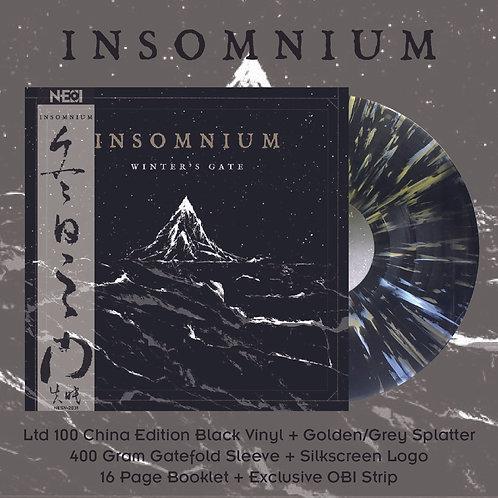 Insomnium - Winter's Gate Ltd 100 China Version Black Vinyl +Gold/Grey Vinyl