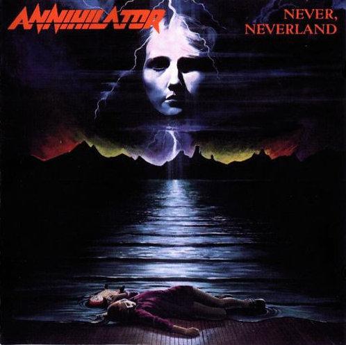 Annihilator  - Never, Neverland Black Vinyl LP