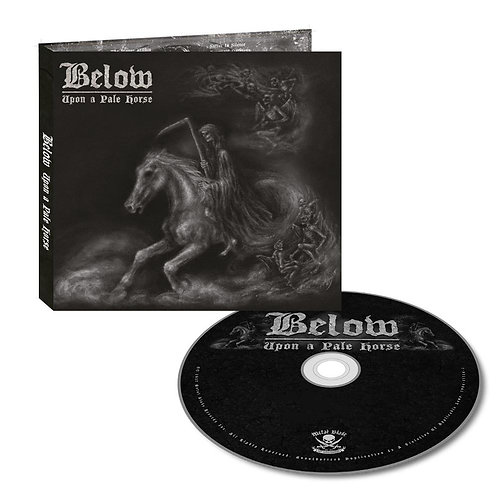 Below - Upon A Pale Horse CD Digipak