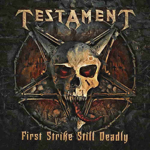 Testament - First Strike Still Deadly CD Digipak