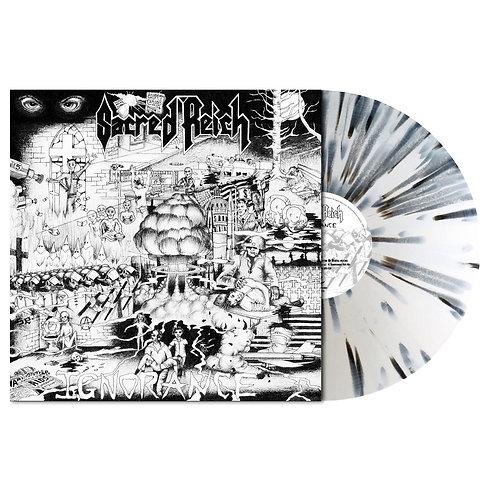 Sacred Reich - Ignorance White/Black Splatter Vinyl LP