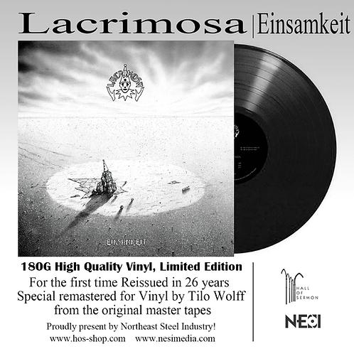 Lacrimosa - Einsamkeit Black Vinyl Ltd 1000
