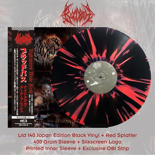 Bloodbath - Nightmares Made Flesh Black Vinyl + Red Splatter