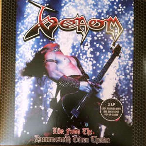 Venom - Live From Hammersmith Odeon Theatre Grey Marble Vinyl 2LP