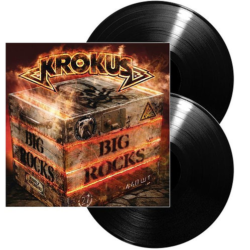 Krokus - Big Rocks Black Vinyl 2LP