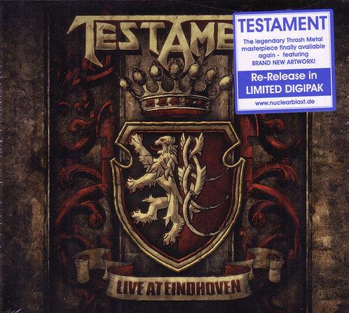 Testament - Live At Eindhoven CD Digipak