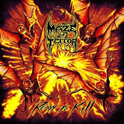 Maze Of Terror - Ready To Kill Black Vinyl LP