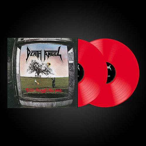 Death Angel - Frolic Through The Park Red Vinyl 2LP- damaged sleeve