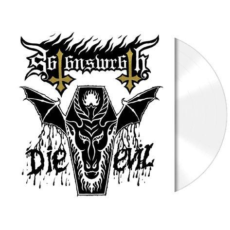 Satans Wrath - Die Evil White Vinyl LP