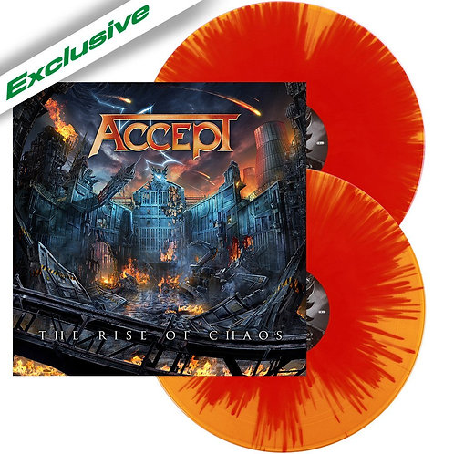 Accept - The Rise Of Chaos Orange/Red Splatter Vinyl 2LP