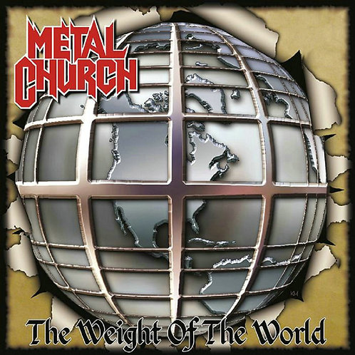 Metal Church - The Weight Of The World CD