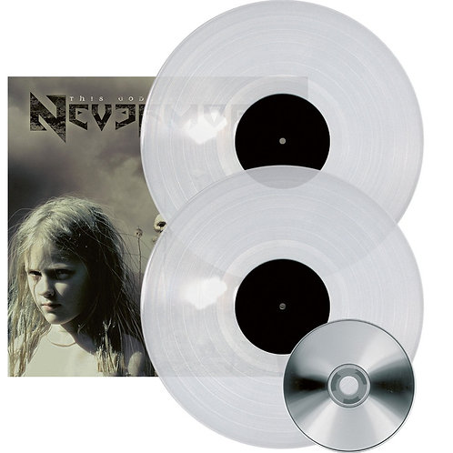 Nevermore - This Godless Endeavor Clear Vinyl 2LP