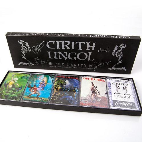 Cirith Ungol - The Legacy Boxset 5 Tapes Ltd 1500