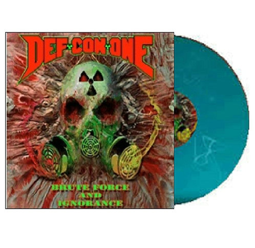Def Con One - Brute Force And Ignorance Green Vinyl LP