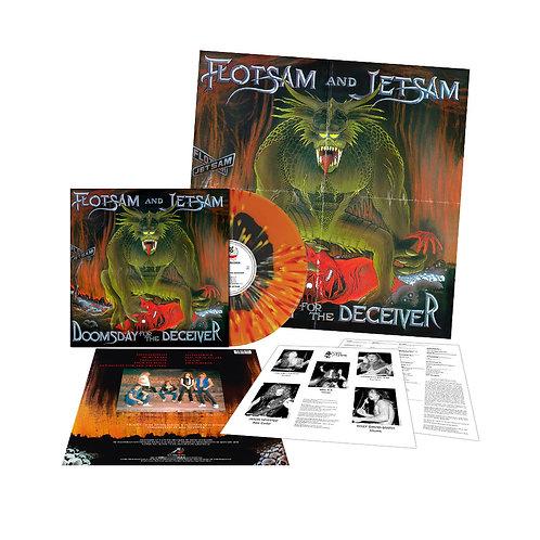 Flotsam And Jetsam - Doomsday For The Deceiver splattered Vinyl LP