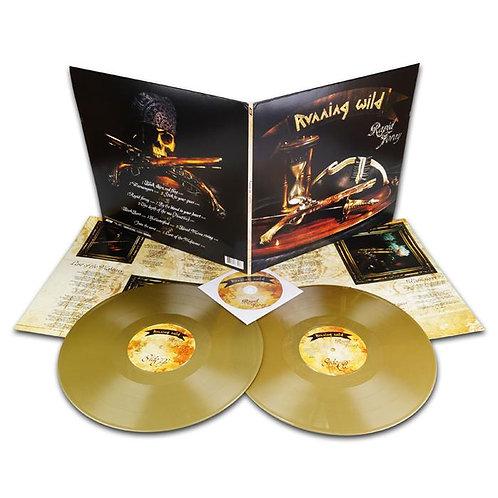 Running Wild - Rapid Foray Golden Vinyl 2LP