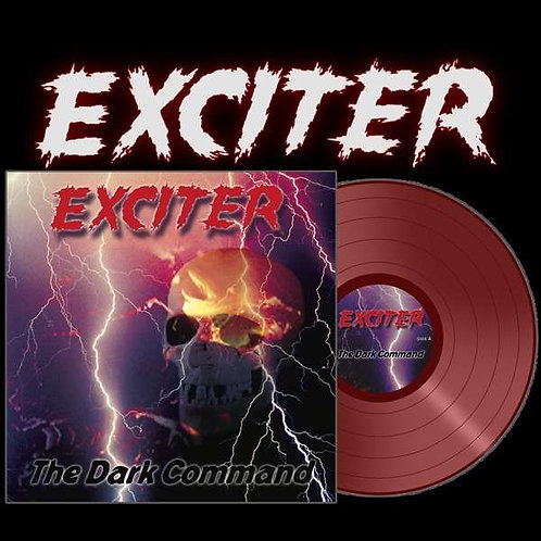 Exciter - The Dark Command Red Vinyl LP