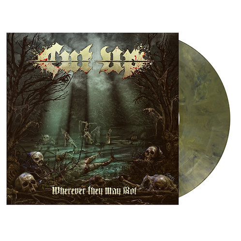Cut Up - Wherever They May Rot Green Marble Vinyl LP