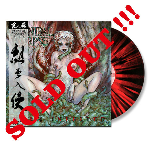 Cannibal Corpse - Worm Infested Splatter Vinyl Ltd 100