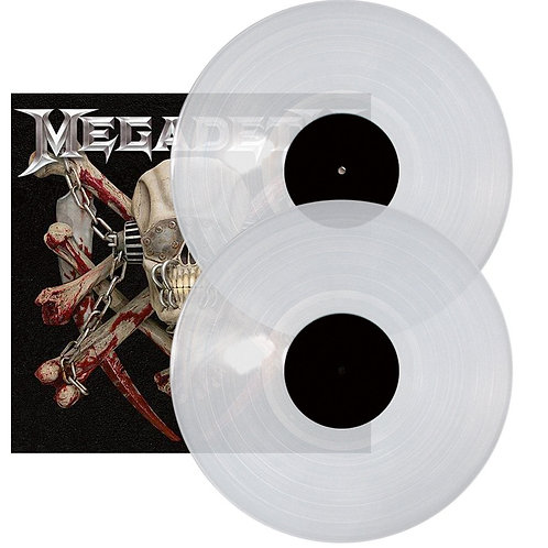 Megadeth - Killing Is My Business The Final Kill Clear Vinyl 2LP