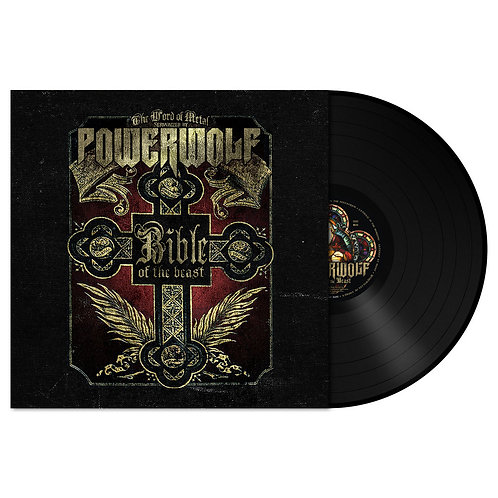 Powerwolf - Bible Of The Beast Black Vinyl LP